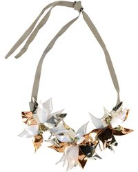 Hoss Intropia Necklace gold - Lyst