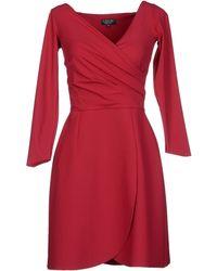 La Petite Robe Di Chiara Boni Short Dress - Lyst