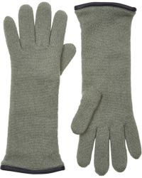 Barneys New York | Double-knit Gloves | Lyst