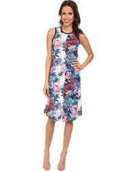Nally & Millie Sleeveless Hawaiian Dress - Lyst