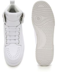 3.1 Phillip Lim Pl31 High Top Trainers - White