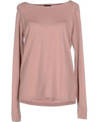 Fred Perry Jumper pink - Lyst