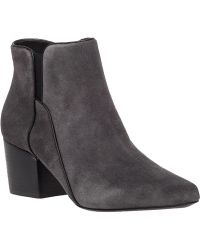 Belle By Sigerson Morrison | Cynna Suede Ankle Boots | Lyst