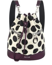 House of Holland The Bucket Purple & Polka Dots - Lyst