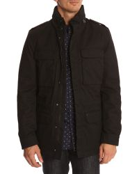 New Man 3-In-1 Black Parka With Removable Liner - Lyst