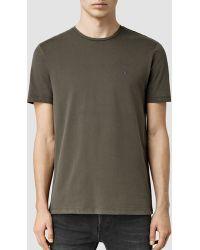 AllSaints | Brace Tonic Crew T-shirt | Lyst