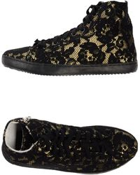 Mancapane Gold High-tops  Trainers - Lyst