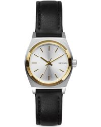 Nixon The Small Time Teller Watch, 26Mm silver - Lyst