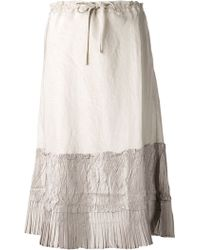Dosa Two-Tone Skirt - Lyst