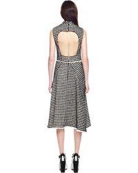 Proenza Schouler Velvet Tweed Sleeveless Wrap Dress - Lyst