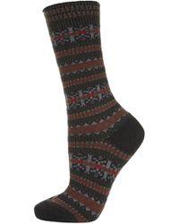 Topshop Falke Norwegian Ankle Socks - Lyst