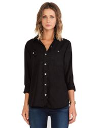 7 For All Mankind 2 Pocket Slim Button Shirt - Lyst