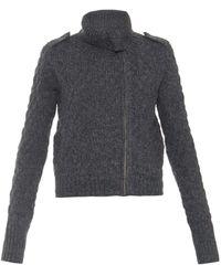 Velvet By Graham & Spencer Jobeth Chunky-knit Jacket - Lyst