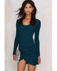 Nasty Gal | Live And Let Die Ribbed Dress | Lyst