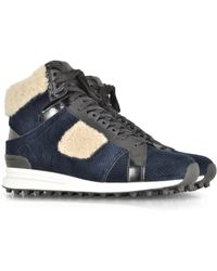3.1 Phillip Lim | Trance Low Top Sneaker W/Shearling | Lyst