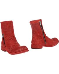 Officine Creative Ankle Boots - Red