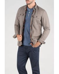 Faherty Brand | Blanket Lined Cpo Jacket | Lyst
