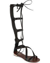 Carvela Kurt Geiger Kiki Knee-High Sandals - For Women black - Lyst