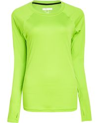 Forever 21 Reflective Trim Running Top - Lyst