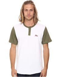 Obey Cast Henley - Lyst