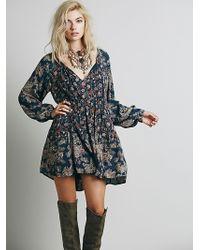 Free People Lucky Loosey Shapeless Dress - Lyst