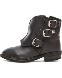 Golden Goose Deluxe Brand Biker Leather Boots - Lyst