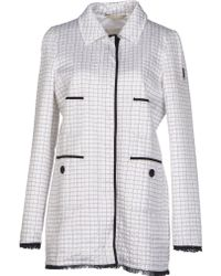 Geospirit Jacket white - Lyst