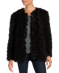 Vince Camuto - Curly Faux-fur Jacket - Lyst