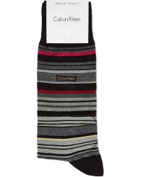 Calvin Klein Striped Socks - For Men - Lyst