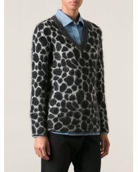 Gucci Leopard Print Top - Lyst
