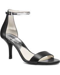 Michael Kors Kristen Leather Gladiator Sandal - Lyst