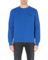 Burberry Brit Claridge Cotton-jersey Sweatshirt - Lyst
