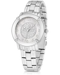 John Galliano The Decorator Silver Tone Stainlees Steel Womens Watch - Lyst