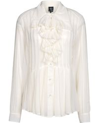 McQ by Alexander McQueen Long Sleeve Shirt - Lyst
