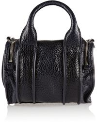 Alexander Wang Inside-out Rockie Textured-leather Tote - Lyst