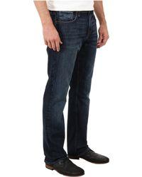 Mavi Jeans Matt Midrise Relaxed Straight Leg in Deep Cooper - Lyst