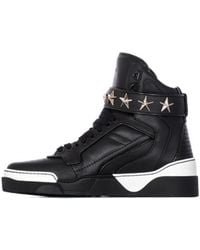 "Givenchy High-Top Sneakers ""Tyson"" Nappa Leather Black black - Lyst"