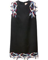 Christopher Kane Rope Applique Mini Dress - Lyst