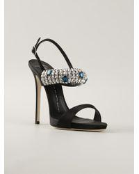 Giuseppe Zanotti Embellished Strap Sandals - Lyst