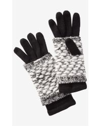 Express Black 2-in-1 Layered Gloves