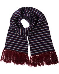 White Mountaineering Oblong Scarf - Multicolour