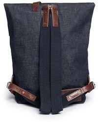 Seventy Eight Percent 'jurgen' Denim Backpack