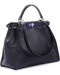 Fendi Peekaboo Large Satchel Bag - Lyst