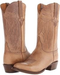 Lucchese Brown 63 - Lyst