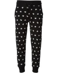 Moschino Cheap & Chic Printed Track Pant - Lyst