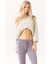 Tigerlily Maryse Crop Knit - Lyst