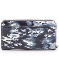 Kate Spade Cedar Street Clouds Wallet - Night Clouds - Lyst