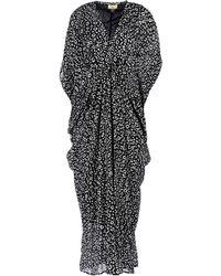 Issa Long Dress animal - Lyst