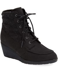 The North Face 'Bridgeton Wedge Lace' Waterproof Boot - Lyst