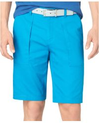 Calvin Klein Bedford Cord Patchpocket Slimfit Shorts - Lyst